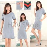 HRV Shop Dress Wanita Lucci V - Hitam / Dress Kaos Wanita / Dress T-shirt Wanita / Gaun Kaos Wanita / Dress Santai Wanita / Gaun Remaja/ Gaun Kasual / Dress ...
