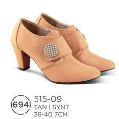 HS Sepatu Casual Heels Wanita 515-09 Real Pict -Best Seller!