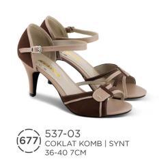 HS Sepatu Casual Heels Wanita 537-03 Real Pict -Hot Sale!