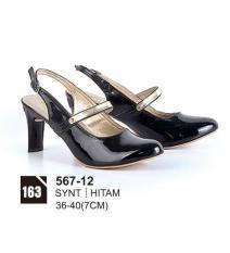 HS Sepatu Casual Heels Wanita 567-12 Real Pict -Promo!