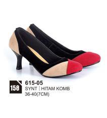 HS Sepatu Casual Heels Wanita 615-05 Real Pict -Super Sale!