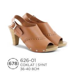 HS Sepatu Casual Heels Wanita 626-01 Real Pict -Super Murah!