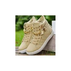 Ulasan Mengenai Hs Sepatu Wanita Boot Zr39 Rantai Cream