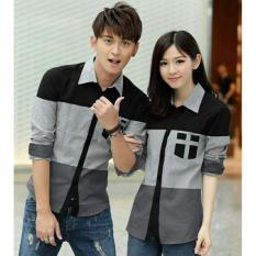 H~Shico - Kemeja Couple COMBINATION   Baju Pasangan   Kemeja Pasangan   Kemeja