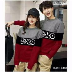 H~Shico - Swaeter Couple  EXO  Abu  Baju Pasangan  Sweater Couple  SWEATER