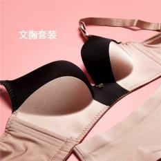 Hua Meili Ketebalan Cincin Model Hit V Merek Koleksi Pakaian Dalam Furu Seamless Beha Set Penyesuaian