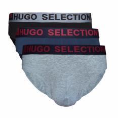 Hugo Sport Underwear Men's Briefs HS-03-270 - 3 pcs - Multicolor - Celana Dalam Pria