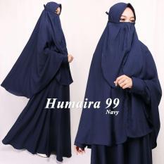 Humaira99 Gamis Syari Cadar Dress Hijab Muslimah Atasan Wanita Khimar