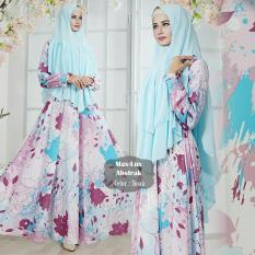 Jual Beli Humaira99 Gamis Muslim Syari Muslim Dress Muslimah Atasan Wanita Lengan Panjang Maxmara Lux Abstrak Di Dki Jakarta