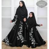 Toko Jual Humaira99 Gamis Syari Couple Ibu Anak Muslim Dress Hijab Muslimah Atasan Wanita Maxmara Lux