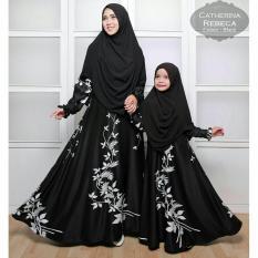 Humaira99 Gamis Syari Couple Ibu Anak Muslim Dress Hijab Muslimah Atasan Wanita Maxmara Lux Diskon Dki Jakarta