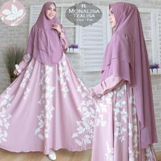 Humaira99 Gamis Syari Jumbo Muslim Dress Muslimah Monalisa