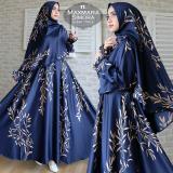 Jual Humaira99 Gamis Syari Jumbo Muslim Wanita Busui Dress Muslimah Monalisa Xxl Online Di Dki Jakarta