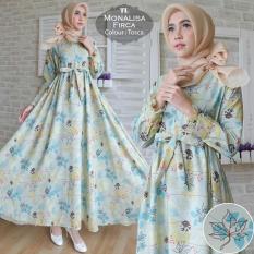 Beli Humaira99 Gamis Syari Muslim Wanita Busui Gaun Muslimah Maxi Dress Lengan Panjang Syar I Hijab Monalisa Firca Online Terpercaya