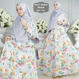 Promo Humaira99 Gamis Syari Muslim Dress Hijab Muslimah Atasan Wanita Jaguart Motif Asli Dki Jakarta