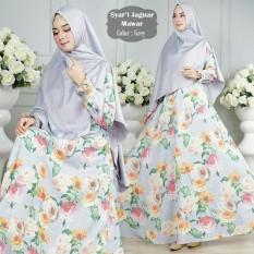 Toko Humaira99 Gamis Syari Muslim Dress Hijab Muslimah Atasan Wanita Jaguart Motif Asli Terlengkap Di Dki Jakarta