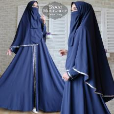 Humaira99 Gamis Syari Muslim Wanita Set Cadar Busui Gaun Muslimah Maxi Dress Lengan Panjang Syar I Hijab Mostcreep Humaira99 Diskon 50