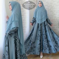 Humaira99 Gamis Syari Jumbo Dress Hijab Muslimah Atasan Wanita Maxmara Lynea Shakila XXL
