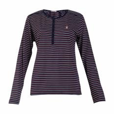 Harga Hush Puppies Ladies Tees Tops Taylor Hill La11363Nv Navy Seken