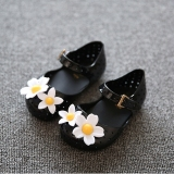 Beli I70 Gadis S Cute Lembut Jelly Sandal Putri Bunga Musim Panas Ankle Tali Velcro Anak Sepatu Warna Hitam Oem Online