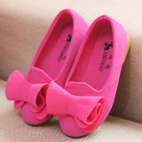 Jual I77 Fashion 1 Pair Cute Baby G*rl S Child Princess Toddler Kids Velvet Bow Flat Student Shoes Color Rose Intl Tiongkok Murah