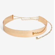 Toko Icantiq Medium Metal Belt Mirror For Women Ladies Accessories Ikat Pinggang Metal Gold Lengkap Di Banten