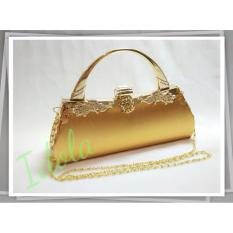 IdolaBags - Tas Pesta Clutch Handbag Lebar Wanita Sunflower Ori 809340606b