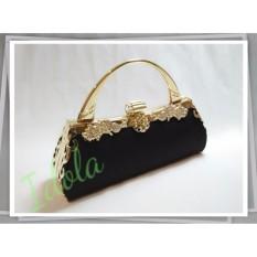 IdolaBags - Tas Pesta Clutch Handbag Lebar Wanita Sunflower Ori