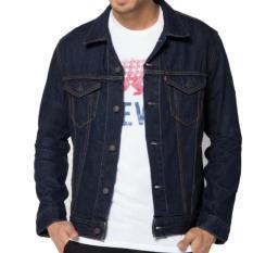 Ids Jaket Jeans Denim Pria Blue Black Di Jawa Barat