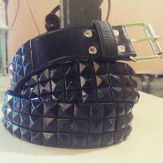 Ikat Pinggang Gesper Belt Spike/Spek/Stud Punk/Underground Fashion - Uivnx9
