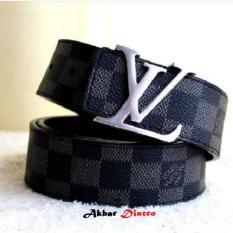 Ikat Pinggang Kullit Pria Akbar Distro - Leather Import
