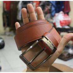 Ikat Pinggang Pria Elegant Akbar Distro Leather Strap - Style Casual Basic
