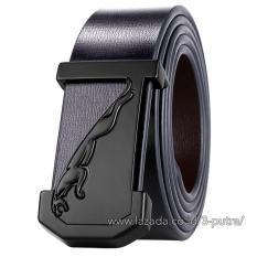 Ikat Pinggang Pria Kulit Sabuk Wallet Belt Gesper Pria Sabuk Pria Kulit - Black ( BLT- 2 )