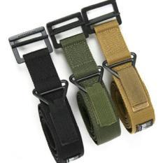 Ikat Pinggang Tactical Army Gesper Blackhawk Sabuk Celana Tentara Unik - 86Wkrf