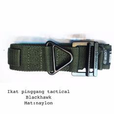 Ikat Pinggang Tactical BlackHawk Nylon Impor Premium - Hijau