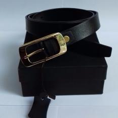IKAT PINGGANG WANITA-BRANDED & LUXURY-BELT PB L-001/20 BLACK