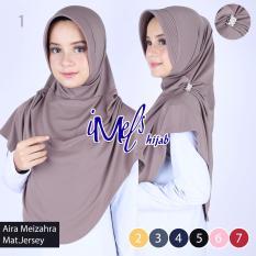 Imels Hijab - Jilbab Aira Meizahra Jersey Super Abu