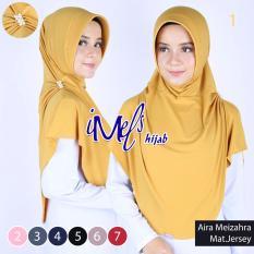 Imels Hijab Jilbab Aira Meizahra Jersey Super Gold Jawa Barat Diskon