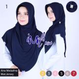 Toko Imels Hijab Jilbab Aira Meizahra Jersey Super Navy Termurah Di Jawa Barat