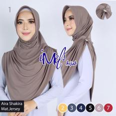 Diskon Imels Hijab Jilbab Aira Shakira Jersey Super Abu Imee Jawa Barat