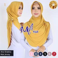 Imels Hijab - Jilbab Aira Shakira Jersey Super Gold