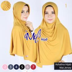 Imels Hijab - Jilbab Ashalina Jersey Super Gold