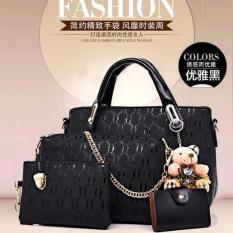 Beli Imf Tas Import High Quality 4In1 Boneka Bg6688 Hitam Online
