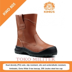 [IMPOR] Sepatu Safety Shoes KINGS KWD 805 CX (Brown)