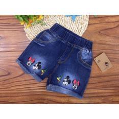 Import Celana Pendek Jeans Kartun Anak Original