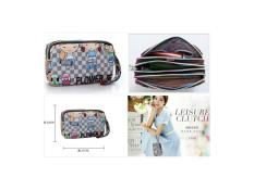 import korea tas mini pouch tempat hp dompet make up passport uang