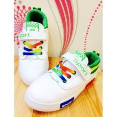 Spesifikasi Import Nvt Collection Sneaker Sport Anak Nvt052 Green Murah Berkualitas