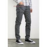 Katalog Impresif Celana Chino Pria Slim Fit Impresif Malmo Grey Impresif Terbaru