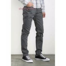 Impresif Celana Chino Pria Slim Fit Impresif Malmo Grey Promo Beli 1 Gratis 1