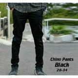 Toko Impresif Celana Chino Pria Slimfit Impresif Malmo Black Online Di Jawa Barat